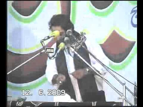 Allama Nasir Abbas ,saheed , Biyan Haq  E Batool ,as video