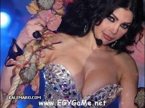 فضيحة هيفاء وهبي يظهر حلمات صدرها في تحدي دل