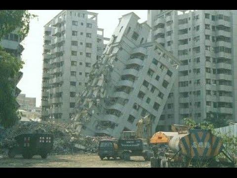 China Earthquake (Yunnan) on Surveillance Camera