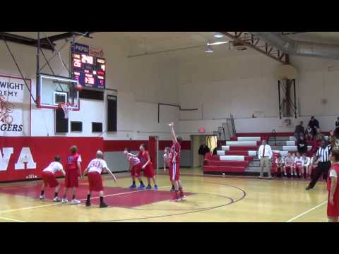 DBCS Middle School Boys  VS Isle of Wight Academy 18 Jan 14