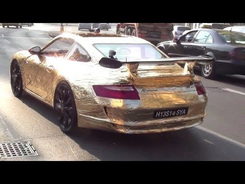 Ferdinand GT3 RS - The World`s slowest Porsche driving in Vienna!