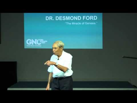 Dr Desmond Ford - The Miracle of Genesis