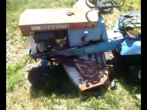 Tiller Tractor Tractor Mower Tiller