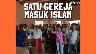 Auto Merinding 💥 Pinoy Kalau Masuk Islam Tidak Sendirian Tapi Segereja, Sekampung