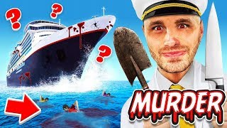 MURDER MYSTERY on A BOAT (The Ship)