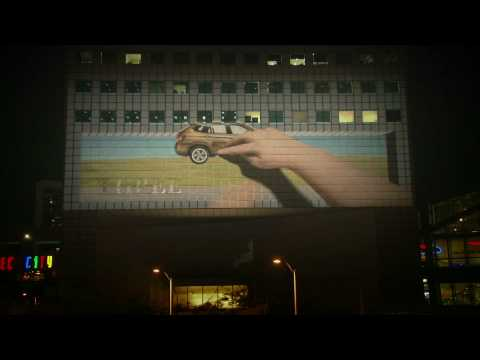 BMW JOY 3D: Asia s 1st Interactive 3D Building Projection