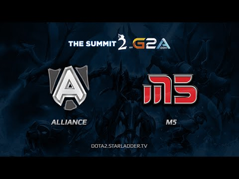 Alliance vs Moscow5 TheSummit 2 Europe Day Last game 1