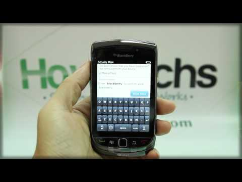 How to Master Reset BlackBerry Torch 9800