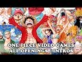 One Piece Video Games All Openings Intros MP3