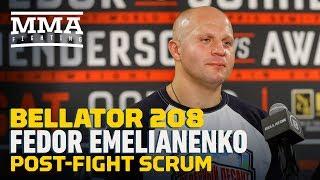 Bellator 208: Fedor Emelianenko Post-Fight Press Conference - MMA Fighting