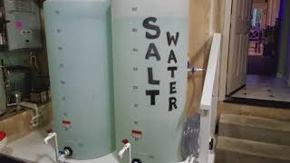 RO/DI storage, saltwater mixing station and Automatic Water Change system