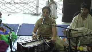 Kirtan Mela at ISKCON Mira Road Kirtan by Bishaka Devi Dasi