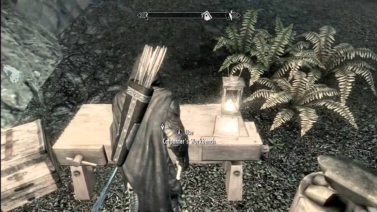 How To Start Building Own House In Skyrim