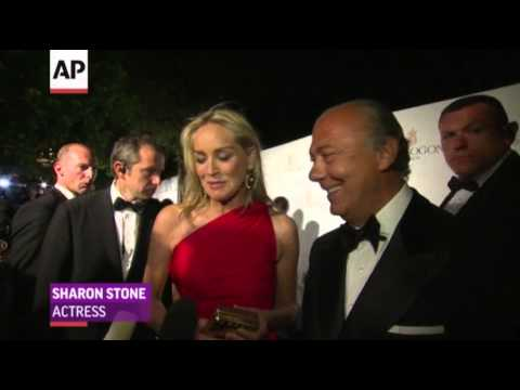 Paris Hilton, Sharon Stone at de Grisogono Party