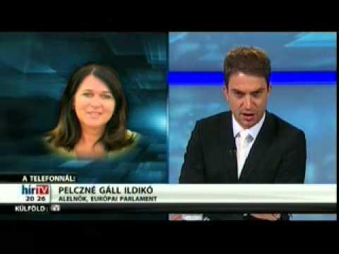 Pelczné dr. Gáll Ildikó a HírTv Magyarország élőben című műsorában