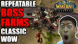 Repeatable Boss Farms In Classic WoW! | Get Raid Ready FAST!!