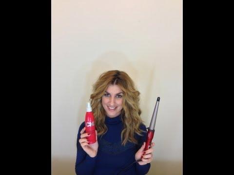 ♡Πώς κάνω τα μαλλιά μου σπαστά/σγουρά- How to achieve wavy hair♡