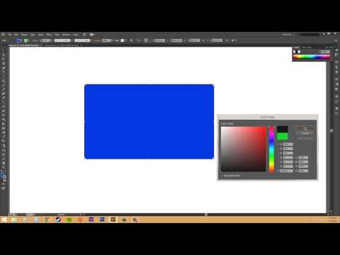 Adobe Illustrator CS6 for Beginners - Tutorial 21 - Creating Rectangles and Circles