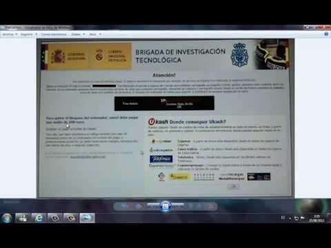 COMO QUITAR EL VIRUS DE LA POLICIA sin descargar programas ni nada