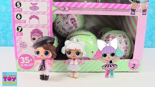 LOL Surprise Series 2 Full Box Opening Episode 2 Doll Blind Bag Opening | PSToyReviews