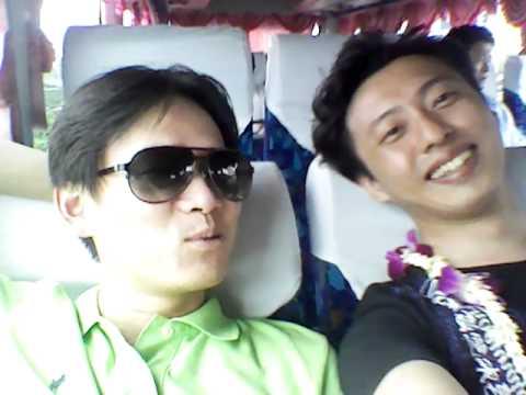 Tiffany Joke, In the bus, In Bangkok.
