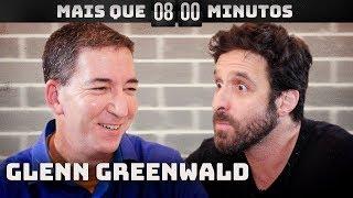 Rafinha Bastos bate boca com Glenn Greenwald | Mais Que 8 Minutos
