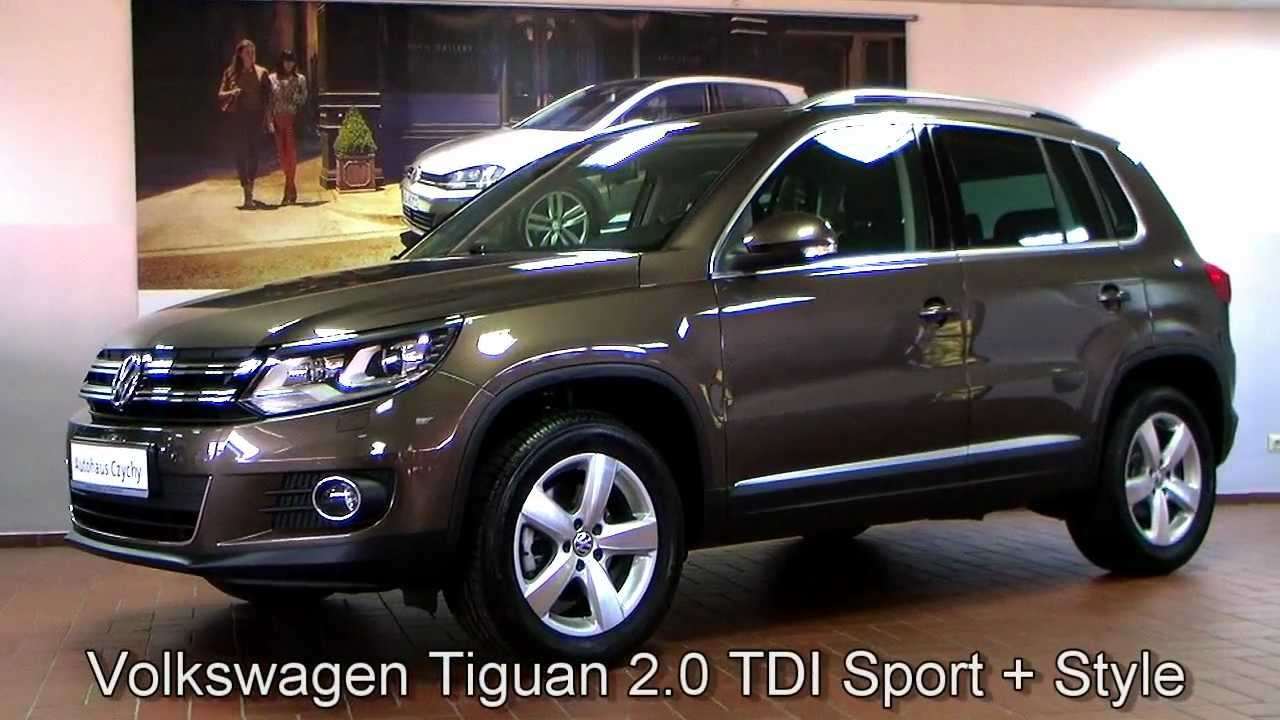 Volkswagen Tiguan 2 0 Tdi Sport Style Toffeebraun