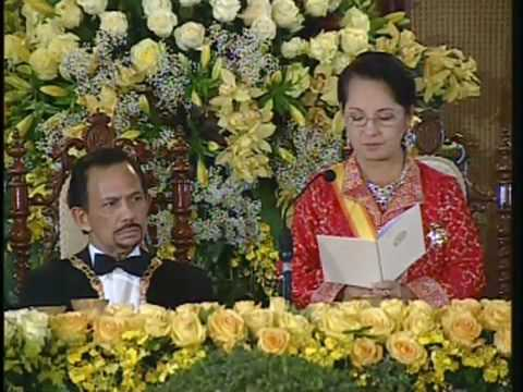 the State Dinner for His Majesty Sultan Haji Hassanal Bolkiah of t