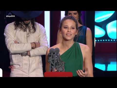 Irene Escolar gana el Goya a Mejor Actriz Revelación en 2016