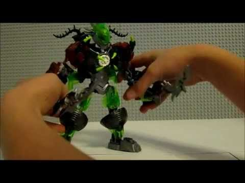 Lego Hero Factory 2013 Brain Attack Combo Model Breez + Ogrum Review