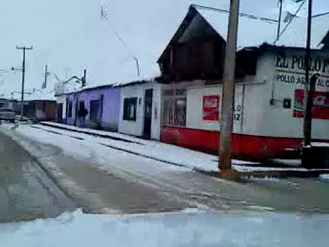 EJIDO EL LARGO... CAMINO NEVADO AL TRABAJO.MP4