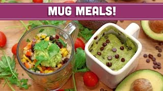 Microwave Mug Meals! VEGAN! - Collab with LoveHealthOk! Mind Over Munch