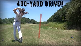 World Long Drive Champion Plays Golf Ep:14 Part 1- Timberlake Golf Club Front 9