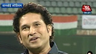 Sachin...Sachin: Sachin Recalls WC Win At Wankhede Stadium