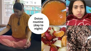 Detox Diet Cleansing Routine for weight loss & immunity | Recipes, drinks, breathing exercise VLOG
