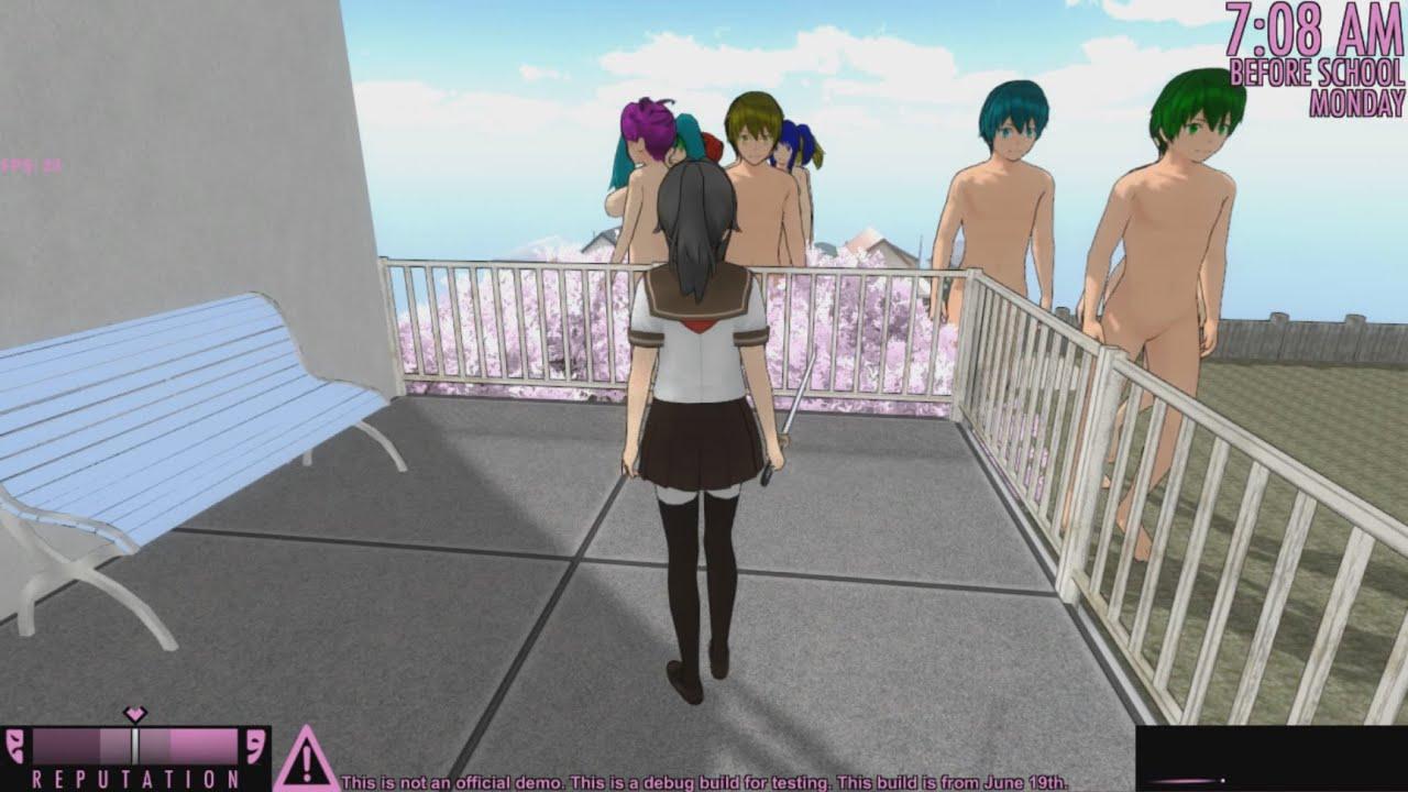 Yandere simulator nude mod fucked image
