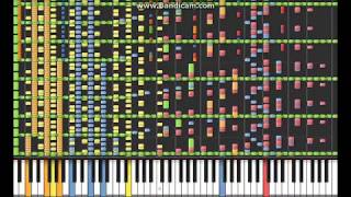 The Hardest Piano Song in Synthesia [Masterpiece] ♫