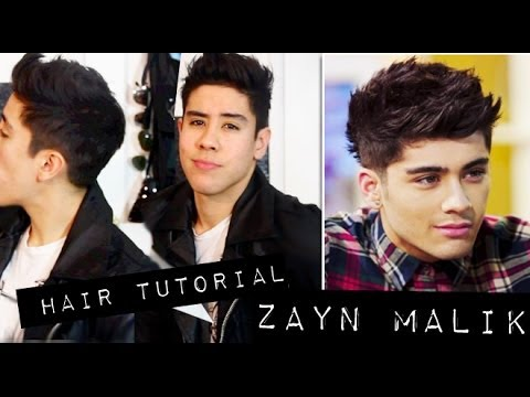 (NEW UPDATED) ZAYN MALIK INSPIRED HAIR TUTORIAL ➮ EASY   JAIRWOO