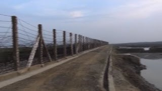 Burma-Bangladesh border fence resumes construction