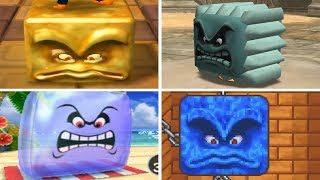Evolution of - Thwomp Minigames in Mario Party
