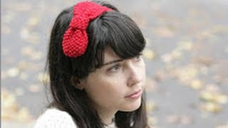 KNITTING TUTORIAL - SEED STITCH BOW HEADBAND