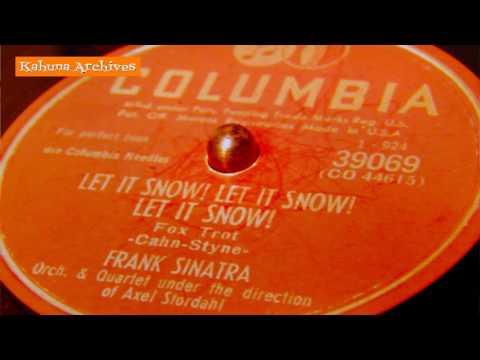 """1950"""" """"Let It Snow"""" Frank Sinatra MP3"""
