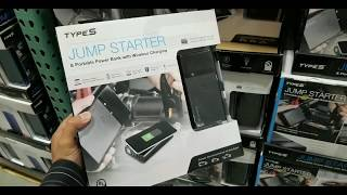 Costco! Type-S Jump Starter and Powerbank w/ Type C & Wireless Charging! $79!!!