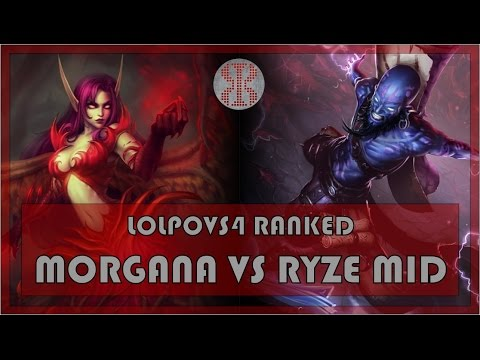 LoLPoV - Morgana vs Ryze - Mid - Ranked Road to Challenger S4 - League of Legends