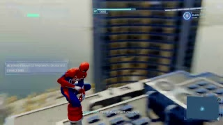 Spiderman ps4 completing the game for the third time