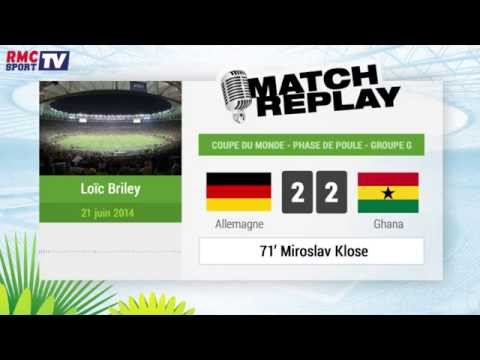 Allemagne - Ghana : Le Match Replay avec le son RMC Sport ! 21/06