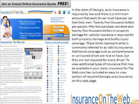 Georgia Auto Insurance