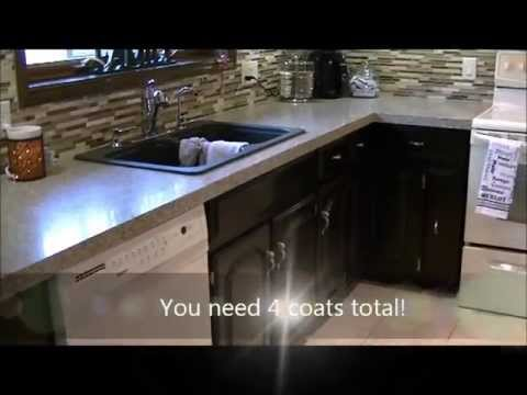 How to Gel Stain Kitchen Cabinets Espresso