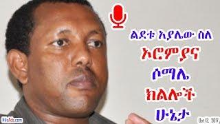 ልደቱ አያሌው ስለ ኦሮምያ እና ሶማሌ ክልሎች ሁኔታ Ato Lidetu Ayalew in current affair - VOA