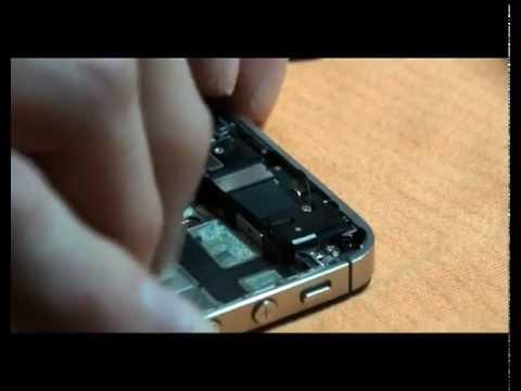 Apple iPhone 4S riparazione sostituzione vetro rotto Parte Seconda